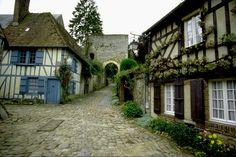 Gerberoy-02- Maisons normandes (IDF/IDP) - Images de Picardie - France