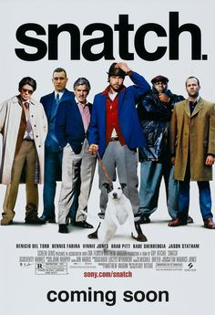 Snatch. If you like Brad Pitt, You'll love him after watching this. Might need Subtitles for his accent but soo funny. Guy Ritchie: Thank you for making this!!