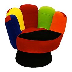 Hit A Homer With A Funky Mitt Hand Chair For A Childu0027s Room, A Playroom, A  Family Or Even In A Main Room Of The Home!