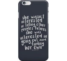The Raven Boys - Blue Sargent iPhone Case/Skin