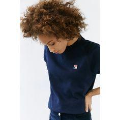9b66a0f13e66 FILA + UO Massimo Raglan Sweatshirt ( 75) ❤ liked on Polyvore featuring  tops,