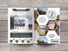 Catalogue produit pour Mat-Api matériel d'apiculture #print #catalogue @joliepub