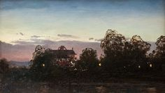Le Prince Lointain: Fanny Churberg (1845-1892), Iltamaisema - 1877