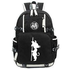 YOYOSHome Anime Dragon Ball Z Cosplay Bookbag Messenger Bag Backpack School Bag
