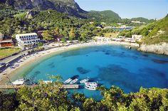 Image: Paleokastritsa, Corfu, Ionian Islands, Greece (© Slow Images/Getty Images)