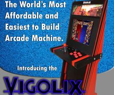 Have you wanted your own arcade machine, but never thought you had the time, skills, tools or money to make a stylish cabinet? Here is the solution! I ...