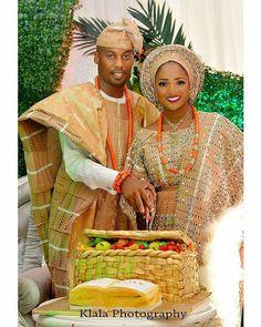 "16.1k Likes, 61 Comments - Africa's Top Wedding Website (@bellanaijaweddings) on Instagram: ""So lovely! #SLCOLE2017 Photo @klalaphotographydesireables Aso oke @bimmms24  Makeup @zainabazeez"""