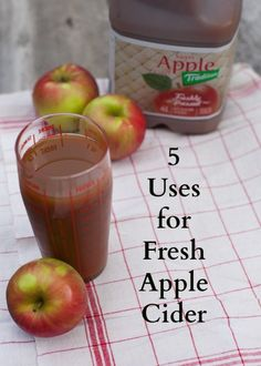 5 ideas for cooking with fresh apple cider - meatballs, oatmeal, brisket and more.
