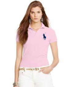 Polo Ralph Lauren Sim-Fit Big-Pony Polo Shirt