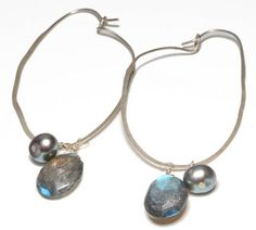 Catherine Marche Jewellery Sterling Silver Hoop Earrings