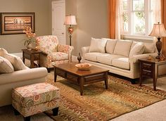furniture and warm colors