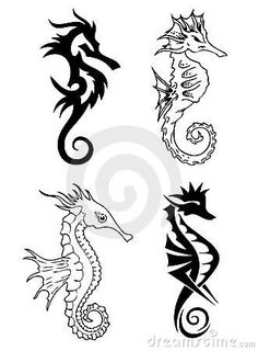 Free sea horse pictures | Free Sea Horse Tattoos Designs