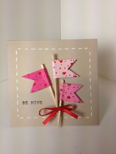 Stampin Up Outlined Occasions Valentines Day Note Card