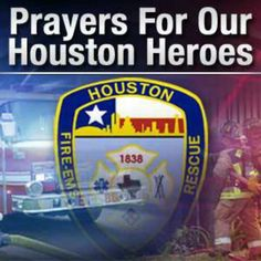 Please keep families and all the firefighters in your prayers.  Lost four Heroes today.