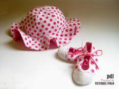 Sombrero y patucos bebé patrones costura - artesanum com