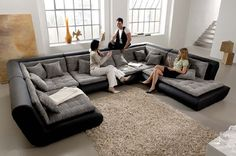 Mona Modular Sectional - contemporary - sectional sofas - chicago - by IQmatics