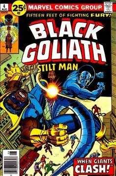 Marvel in the '70s: Blaxploitation Heroes? Yup.