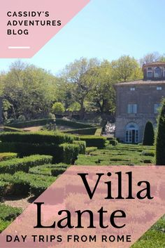 Villa Lante is a beautiful old villa just outside of Rome, making it the perfect day trip from Rome!