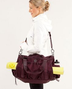 Compact duffle for a quick run to the gym. #fitness http://shop.lululemon.com/products/clothes-accessories/women-bags/Keep-On-Running-Duffel?cc=7524=3459722=women-bags