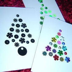 easy winter craft for young kids just sequence and glueing cheap and very decorative.