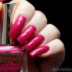 Saffron 51: BunnyTailNails: Sanna Tara Nail Art - Saffron 20 + 51 + 52 - Are You Red-y?