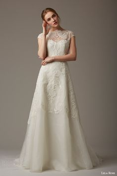 Lela Rose Bridal Spring 2016 Wedding Dresses | Wedding Inspirasi