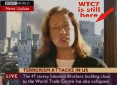 Tony Rooke refused to pay a TV license fee because the BBC intentionally misrepresented facts about the attacks, he alleged. It is widely known that the BBC reported the collapse of World Trade Center Building 7 over 20 minutes before it. Illuminati, Trade Centre, World Trade Center, 11 September 2001, Religion, Inside Job, Question Everything, Conspiracy Theories, 911 Conspiracy