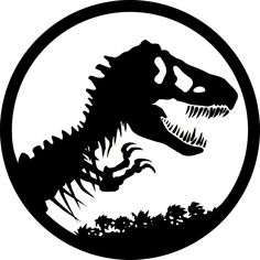 Image result for dinosaur skeleton silhouette