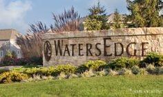 Entry Monument// WatersEdge// Overland Park Kansas
