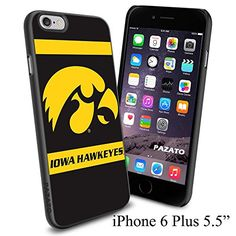 """NCAA O THE UNIVERSITY OF IOWA , Cool iPhone 6 Plus (6+ , 5.5"""") Smartphone Case Cover Collector iphone TPU Rubber Case Black [By NasaCover] NasaCover http://www.amazon.com/dp/B012BCGX46/ref=cm_sw_r_pi_dp_naoXvb0RXE16T"""