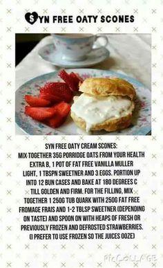 Syn free oaty scones