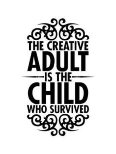 Let your creative adult thrive!