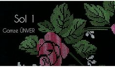 Embroidery Flowers Pattern, Flower Patterns, Baby Knitting Patterns, Blackwork, Diy And Crafts, Cross Stitch, Cross Stitch Designs, Hand Embroidery Stitches, Cross Stitch Embroidery
