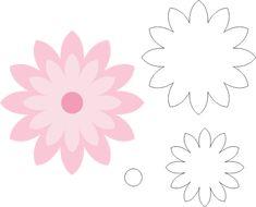 Flower Crafts, Diy Flowers, Paper Flowers, Leaf Template, Flower Template, Foam Crafts, Paper Crafts, Felt Flowers Patterns, Diy Quiet Books
