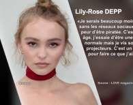 Lily-Rose Depp anxieuse et stressée à cause de sa célébrité ? Elle se confie !
