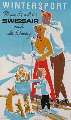 vintage SwissAir