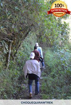 Trekking to Choquequirao with some people  http://www.choquequirawtrek.com/