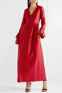 Merchant Archive | Taffeta gown | NET-A-PORTER.COM