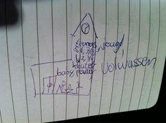Beeld van 12-jarige van #lerengeloven via @KWTimotheus