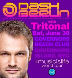 Preview for Dash Berlin THIS SATURDAY in #NYC with Tritonal on #EDM Insider http://edminsider.com/made-event-pres-dash-berlin-musicislife-tour-at-governors-beach-club-63012/ #TranceFamily