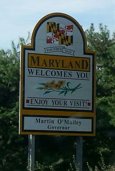 Maryland. We spent a summer there when I was a little girl. Fun and exciting summer!