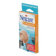 Timbres Absorbant pour l'Acné Nexcare - 72 Timbres - Circulaire en ligne It Works, Personal Care, Boutique, Oil, Fishing Line, Self Care, Personal Hygiene, Nailed It, Boutiques