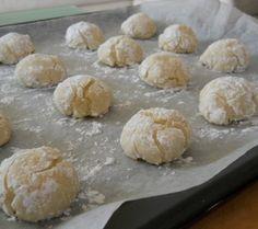 Amaretti soft italian cookies