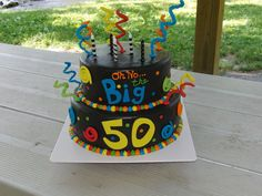 Oh No The Big 50!  on Cake Central