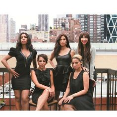 Orange is the New Black - Jessica Pimentel, Selenis Leyva, Laura Gomez, Dascha Polanco, and Jackie Cruz.