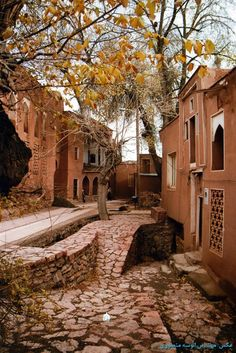 Abyaneh is a famous historic Iranian village near the city of Natanz in Isfahan Province, Iran