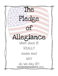 Social Studies: Citizenship is emphasized in the TEKS and this Pledge of Allegiance Book could be a great way to help students understand why we have a pledge and more about practicing good citizenship.