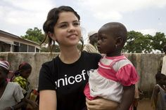 Selena Gomez decribes her support for Tap. @selenagomez @unicefusa