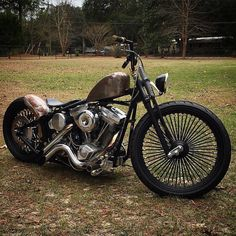 chopper with our snub nose leather seat Hd Motorcycles, Bobber Bikes, Bobber Motorcycle, Motorcycle Style, Custom Bobber, Custom Choppers, Custom Harleys, Custom Bikes, Harley Davidson Custom Bike