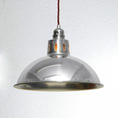 Factory Industrial Pendant Light - Raw - Artifact Lighting